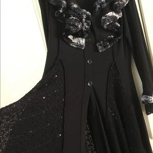 Stevie Nicks coat by Joseph Ribkoff